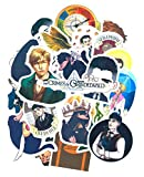 SetProducts Top Adesivi ! Lotto di 49 Adesivi Fantastic Beasts - Stickers Vinili Non Volgari i Alta qualità - Bomb, The Crimes of Grindelwald - Personalizzazione, Scrapbooking, Pc, Mac, Laptop...