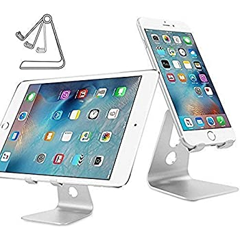 Support Téléphone, iClever Adjustable Dock iPhone, Support universel avec inclinaison ajustable pour iPhone X 8 7 6 6s plus Nintendo Switch, HUAWEI, Samsung S3 S4 S5 S6 S7 S8, Accessoires, Bureau, D'a