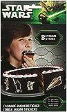 Essbare Zucker-Sticker Star Wars (8 Sticker/Paket)
