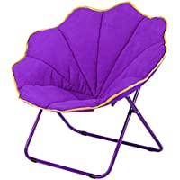 Outdoor folding chair large Moon chair Home Lazy chair Armchair Sun lounger armchair Round chair