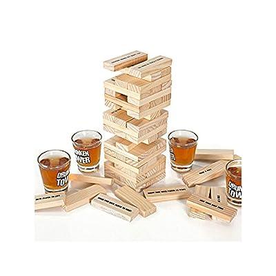Original Cup - Drunken Jeu à Boire pour Soirées Étudiantes, Tower