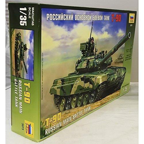 ZVEZDA T-90 Russian MBT 1:35 - Model Kit Z3573 by Zvezda