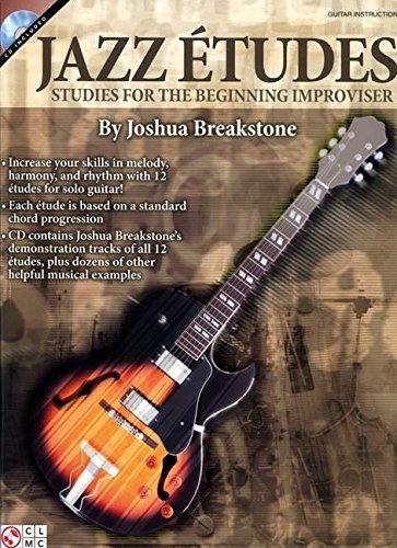 Jazz Etudes: Studies for the Beginning Improviser (Book & CD)