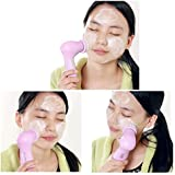 FOK 5 in 1 Multi-Function Portable Facial Skin Care Electric Massager Scrubber with Latex Brush (FO20145)