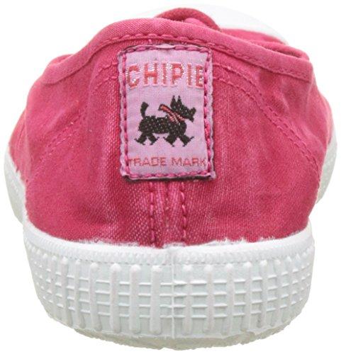 Chipie Joseph Enz, Baskets Basses Femme Rouge (Cerise Délavé)