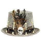 Sombrero de Adulto Steampunk Hechicero Accesorios Halloween