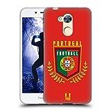 Head Case Designs Portugal Fussball Wappen Soft Gel Hülle für Huawei Honor 6A