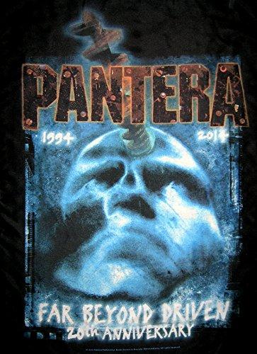 PANTERA FLAGGE FAHNE FAR BEYOND DRIVEN 20TH ANNI (Pantera Flagge)