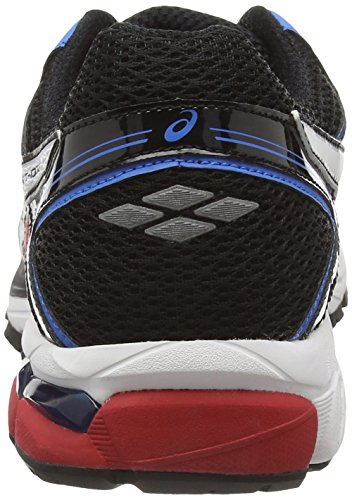 Asics Gt- 1000 4, Chaussures de Running Entrainement Homme Rouge (Fiery Red/White/Black 2301)