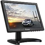 Écran 10 pouces IPS 1280 x 800 Eyoyo Portable Mini Moniteur LCD 16 : 10 avec Entrée vidéo HDMI BNC AV VGA Sortie d'écouteur avec haut-parleur intégré pour PC CCTV et Cam surveillance