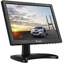 Eyoyo 10 Pulgadas Monitor LCD Pantalla (16:10,1280x800, 400cd / ㎡ ,IPS,VGA, BNC, HDMI, 600:1)