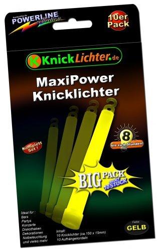 10-knicklichter-gelb-maxi-power-extra-dick-150-x-15-mm-jetzt-im-gunstigen-big-sparpack-neueste-gener