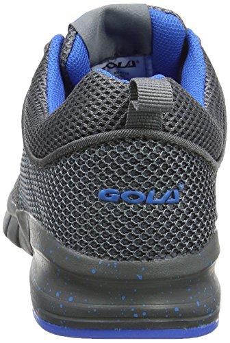 Gola Angelo, Scarpe Sportive Outdoor Bambino Grigio (Grey/blue)