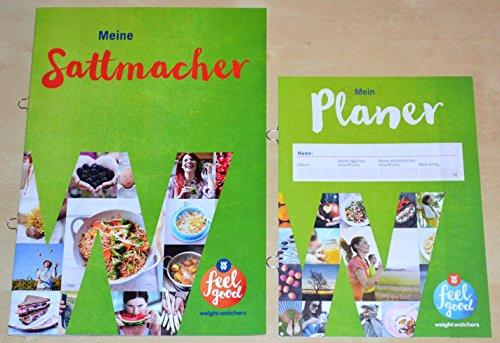 Charmate® Beauty Set //Gesichtspflege// Weight Watchers Starter Set 2 teilig ''Meine Sattmacher + Mein Planer ''Tagebuch'' - SmartPoints® Plan / 2016
