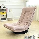 Stühle FEI Bequem 360-Grad-drehender fauler Couch-einfacher moderner Single-Schlafzimmer-Balkon-Wohnzimmer-beiläufiger Stark und langlebig (Farbe : Khaki)