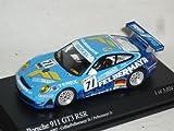 Minichamps Porsche 911 997 Gt3 GT 3 RSr Blau 2007 24 Stunden Le Mans 1/64 Modell Auto Modellauto
