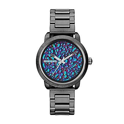 Diesel DZ5428 - Reloj para mujeres, correa de acero inoxidable color gris de DIFYX