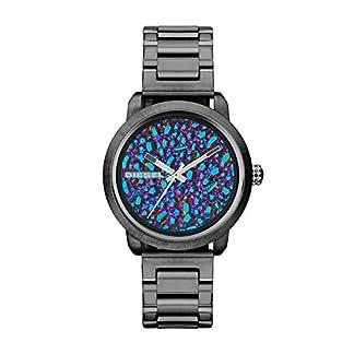 Diesel DZ5428 – Reloj para Mujeres, Correa de Acero Inoxidable Color Gris