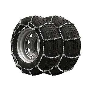 DQ-PP chaînes a neige pour camions, 2 pieces 18'' 335/80x18