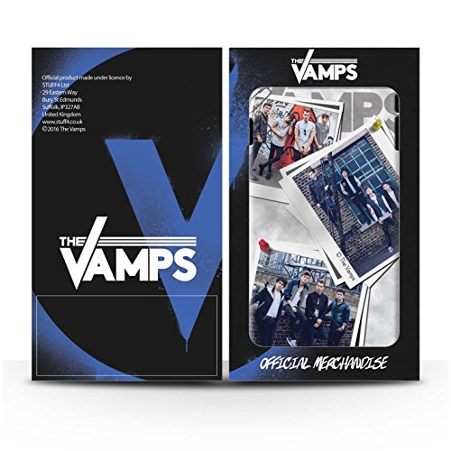 Officiel The Vamps Coque / Clipser Matte Etui pour Apple iPhone 5/5S / Pack 5Pcs Design / The Vamps Livre Doodle Collection Collage