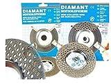 Diamant-Sichtschleifscheibe, Standardkörnung inkl. 9mm Dorn