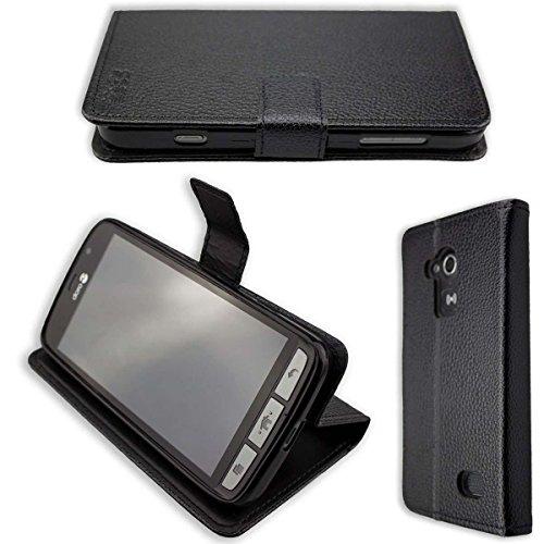 caseroxx Hülle/Tasche Bookstyle-Case Doro Liberto 824/825 Handy-Tasche, Wallet-Case Klapptasche in schwarz