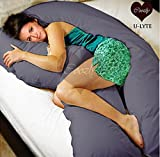 Coozly U LYTE Navy Pregnancy Pillow Fine...