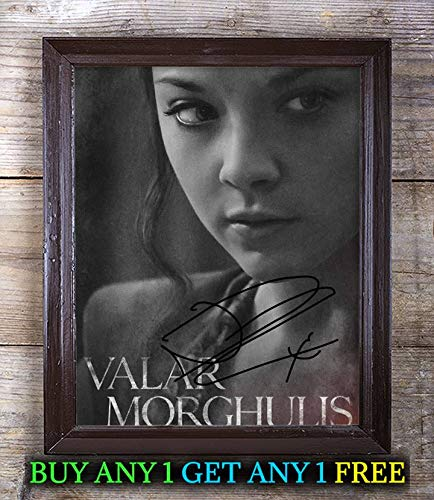 Margaery Tyrell Fictional Character Autographed Signed 8x10 Photo -