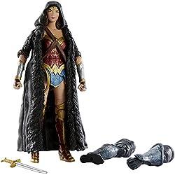 Mattel Figura de acción de Wonder Woman del multiverso DC (FDF42), versión de la película para coleccionistas (15 cm)