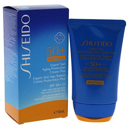 Shiseido Expert Sun Aging Protection Plus SPF 50 unisex, Sonnenlotion 50 ml, 1er Pack (1 x 0.08 kg) -