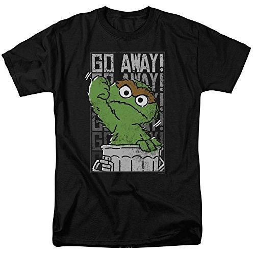 Sesame Street Herren T-Shirt Schwarz