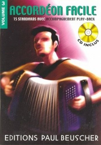 Partition : Accordeon facile volume 3 + ...