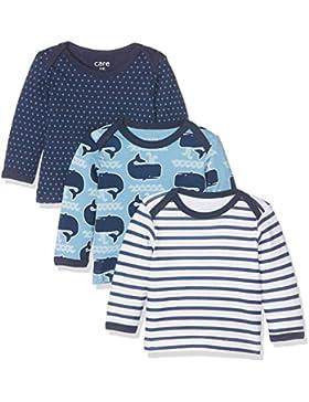Care Baby-Jungen Langarmshirts Barba, 3er Pack,