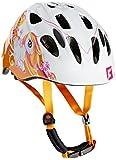 Cratoni Mädchen Fahrradhelm Akino Pony White-Orange Glossy, S
