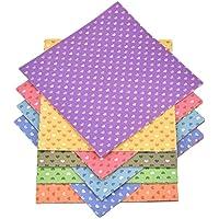 lumanuby 50hojas/Set origami papel impresión en color Origami Papel Hecho A Mano Cut niños DIY color papel 15x 15cm (50colores), papel, colorful#3, 15 cm