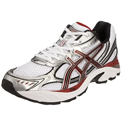 Asics Men's GT 2150 (2E) Running Shoe White/Red/Black