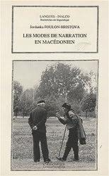 Les modes de narration en macédonien