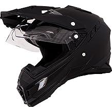 O neal Sierra Adventure Enduro MX-Casco para moto Flat, color negro Talla