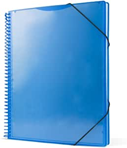 / Spiral Folder with 30/ Sleeves Green A4 Pryse 4240034/