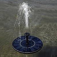 Outdoor Solar Powered Springbrunnen Set Brunnen Wasser Pumpe Mit  Verschiedenen Spay (Köpfe Für Teich,