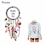 #5: TOTAL HOME Windbell Dreams Come True Iron on Printing Heat Transfer Patches Applique Stickers for Clothes T-Shirts,(PCTR81416 R81416) -Pack of 1