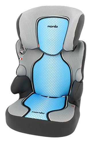 Nania Kinderautositz Kindersitz BeFix SP pop  ECE Gruppe 2 / 3  von 15 bis 36 kg  blau