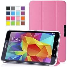 MoKo Samsung Galaxy Tab 4 8.0 Funda - Ultra Slim Ligera Smart-shell Funda para Samsung Galaxy Tab 4 8.0 Pulgadas Android Tableta, ROSA (Con Cierre Magnético Para Reposo Automático / NO va a caber el Tab 3 8.0)