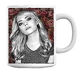 Emma Stone Portrait Mug Cup
