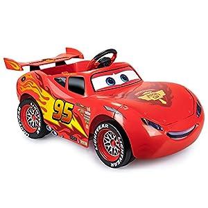 FEBER- Cars Lightning Mcqueen 3 6V UK, (Famosa 800011187)