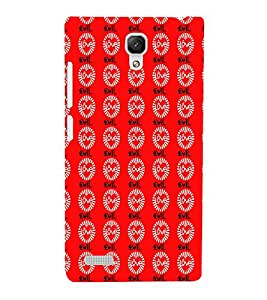 EPICCASE evil love Mobile Back Case Cover For Xiaomi Redmi Note (Designer Case)