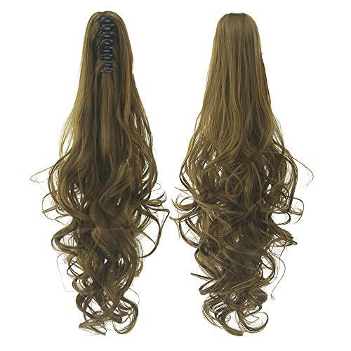 Perücke Grip Schachtelhalm Lange Lockige Haare Europäischen Und Amerikanischen Heißen Haaren 60cm oder so Farbe 6 (Elfen Lied Kostüm)