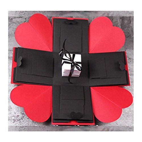 Kreative DIY Explosion Box Liebe Memory Fotoalbum als Geburtstag Jahrestag Geschenke (überraschung-box)