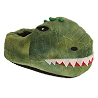 Slumberzzz Childrens/Kids Dinosaur Slippers