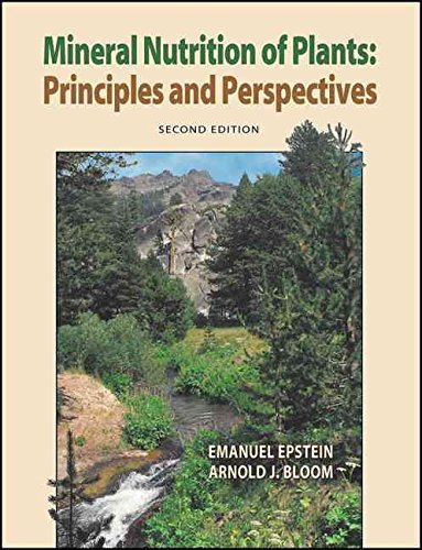 [(Mineral Nutrition of Plants : Principles and Perspectives)] [By (author) Emanuel Epstein ] published on (January, 2005)